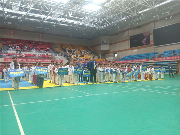 淮安市跆拳道锦标赛暨大众跆拳道邀请赛在淮阴区体育健身中心隆重举行
