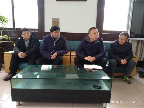 楚州中学召开新学期政教工作会议