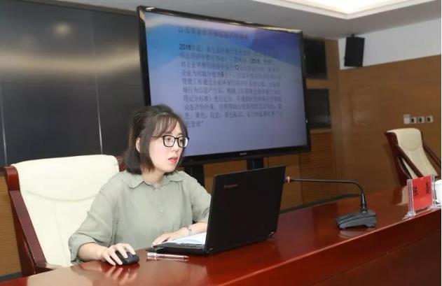 淮安市生态环境局对开发区企业进行环保信用评价宣讲